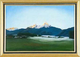 Sonnenaufgang beim Gattermann - Lehen (1995)
