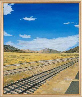 Zughalt im peruanischen Hochland (1996)