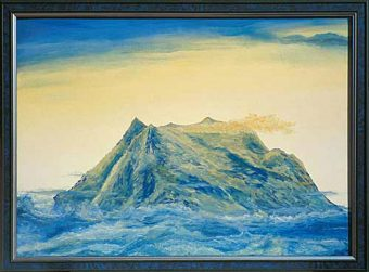 Die Geburt des Illimani in den Wolken (1996)