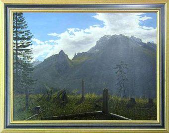 Lichtung im Bergwald (1997)