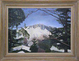 Untersberg von der Kneifelspitze aus gesehen (1999)